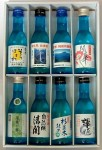 栃木地酒紀行アロマボトルセット8本セット(180ml×8p)