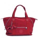 お買い物にもアウトドアにもオシャレな真っ赤なボストンで♪  KIPLING(キプリング)TM2060-K01362 ART M ボストンバッグ