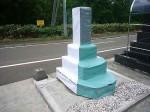 墓石カバー  墓石の形状に合わせ、一体物に加工の墓石カバー12色です。汚れから守ります。