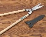 伝統工芸士が造る標準型庭木剪定用刈込鋏風紋 止付刈込鋏 標準型
