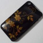 iphone 3G ケース 和柄「鉄仙」