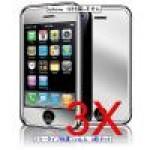 iphone ミラータイプ保護フィルム3枚セット