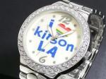 I LOVE LA●送料無料セール●キットソン 腕時計 レディース KW0008(ホワイト)