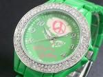 きらきらピース●送料無料セール●キットソン 腕時計 レディース KW0007(グリーン)