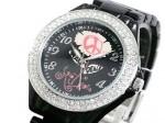 きらきらピース●送料無料セール●キットソン 腕時計 レディース KW0010(ブラック)