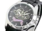 クリスタルストーン●送料無料セール●kitson キットソン 腕時計レディース KW0013(ブラック)