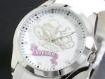 クリスタルストーン●送料無料セール●kitson キットソン 腕時計レディース KW0016(ホワイト)