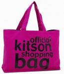 【即納可】デカサイズ キットソン【KITSON】OFFICIALトートバッグ大・ピンク