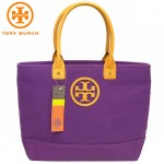 TORY BURCH CANVAS SMALL JADEN TOTE