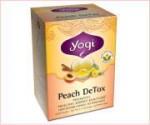 ヨギティー(Yogi Tea) ピーチデトックス 6ボックスセット(計96ティーバッグ)