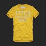 アバクロ/Tシャツ:Beckhorn Trail - Yellow