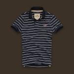 ホリスター/ポロシャツ:Silver Strand - Navy Stripe