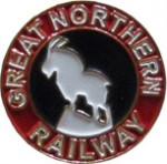 Great Northern Railway ピンバッチ
