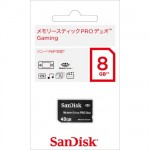 【SanDisk】メモリースティック PRO デュオ Gaming 8G