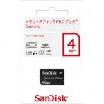 【SanDisk】メモリースティック PRO デュオ Gaming 4G
