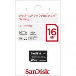【SanDisk】メモリースティック PRO デュオ Gaming 16G
