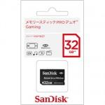【SanDisk】メモリースティック PRO デュオ Gaming 32G