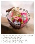 選べる8色×5色×8種類♪アロマベアギフトセット-プリザーブドフラワー&ミニボトル香水-【全国送料無料】