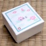 かわいい日本茶【ちゃばこシリーズ】~ハスうさぎ・お抹茶~