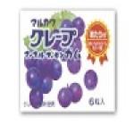 丸川製菓 グレープマーブルガム6粒入