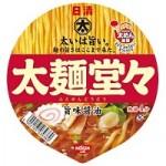 日清太麺堂々醤油豚骨 107g