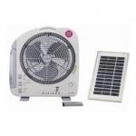 12インチ充電式リモコンファン(太陽光パネル2枚)