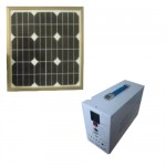 ソーラー発電・蓄電池セット(100W)