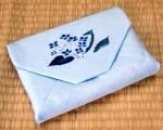 数奇屋袋~紫陽花~【麻】【数奇屋バッグ】