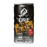 キリン ファイア 挽きたてブラック 185g缶