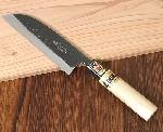 【特別ご奉仕品】越前打刃物 両刃 鎌型菜切包丁 厚口