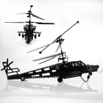 ラジコン ヘリコプター 4ch ラジオコントロール ジャイロ ラジヘリ KA-50 アパッチタイプ