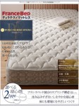 【送料無料】フランスベッド 羊毛入りデュラテクノマットレス セミダブル (40103824)