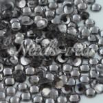 高品質ガラス製ラインストーン/ブラックダイヤモンド