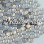 高品質ガラス製ラインストーン/ホワイトオパール