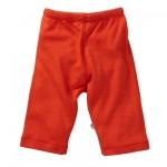 【送料無料】ロングパンツ(レッドオレンジ)【Babysoy】【CPSIA認定商品】