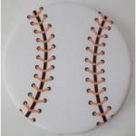 雑貨 野球ボール型ソフトフライヤー(フリスビー)