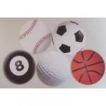 野球グッズ・雑貨 ボール型 コースター(2枚)
