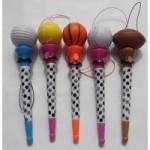 ボールグッズ・雑貨 真空ボールペン(ボールを飛ばして遊べる野球ボールペン)