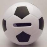 サッカーボール雑貨 コインホルダー