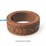 Ring Strap02 木製リングストラップ(刻印入り)