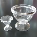 スイーツデコ用素材 ビッグミニチュアパフェグラス 徳用20個セット