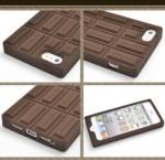 iPhone5専用ケース チョコレート