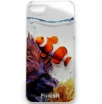 フィッシュ iPhone5ケース アクアリウム クマノミ