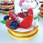 BIGリアルスイーツアラカルト 3種のベリーのパンケーキ