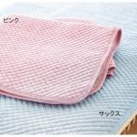 綿麻ポコポコ敷きパッド シングルサイズ
