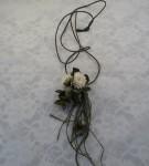 布花ネックレス(クローバー&しろつめくさ)