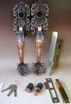 WEST 飾り錠タイプ交換用フルセット WESTリプレイスシリンダー仕様