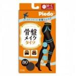Piedo骨盤シリーズ 美腹80Dタイツ101ブラックM〜L PB13-1003 3セット