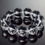 水晶ブレスレット20mm玉