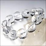 水晶ブレスレット18mm玉